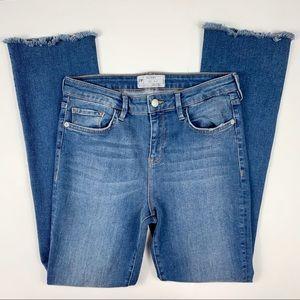 Free People raw edge jeans Sz W 30